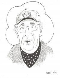Peter Schmidt's caricature
